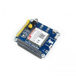 4G / 3G / 2G / GSM / GPRS / GNSS HAT for Raspberry Pi Image